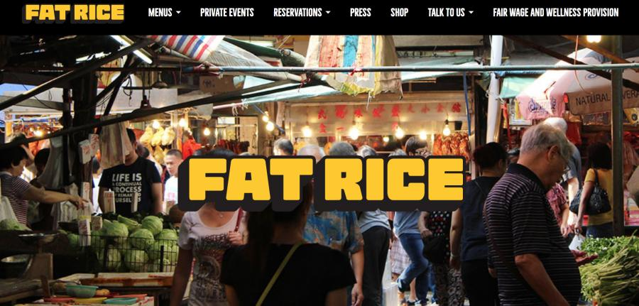 The Fat Rice website