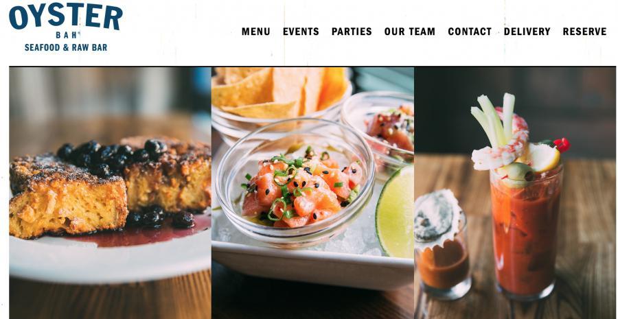 The Oyster Bah's website