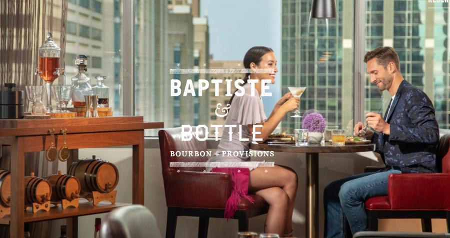The Baptiste & Bottle's website