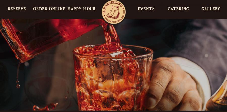 The Il Porcellino's website