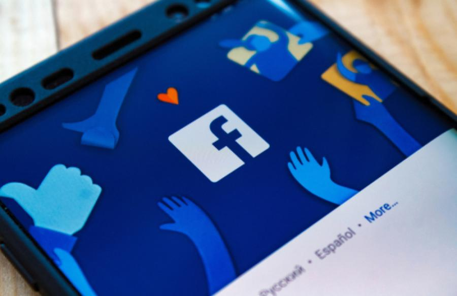 The Facebook app shown on a mobile device
