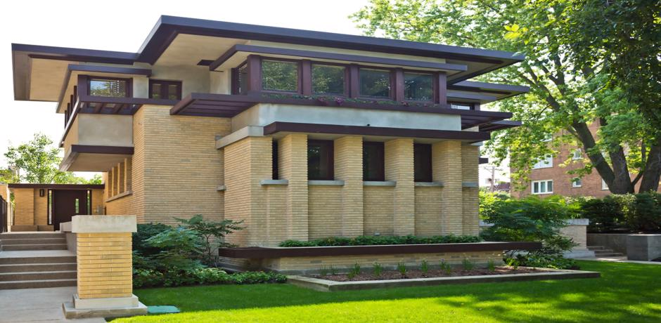 The Emil Bach house in Chicago