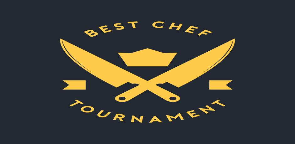 The best chef tournament logo