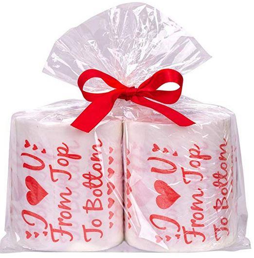 Novelty Valentine's Toilet Paper