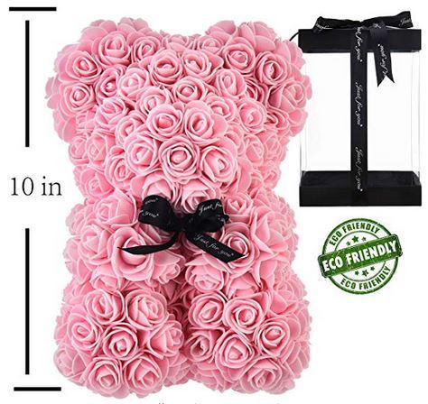 Handmade Rose Bear Teddy Bear