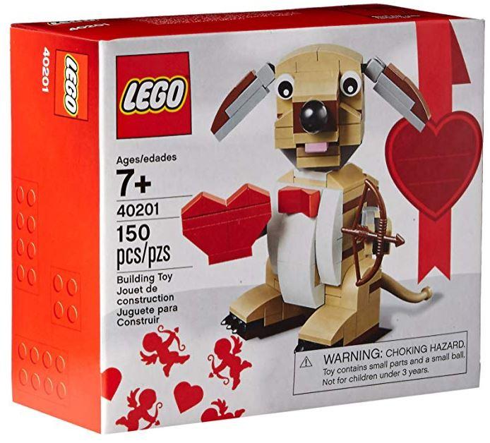 Valentine's Cupid Dog Building Kit