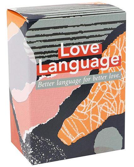 Love Language Conversation Starter Card Game