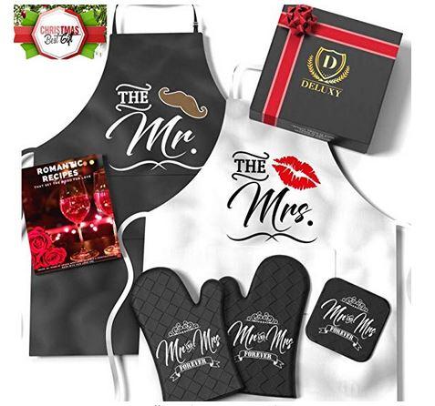 Mr & Mrs. Cooking Set