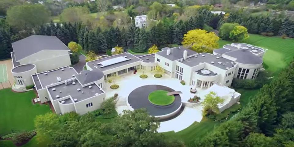 Michael Jordan's mansion
