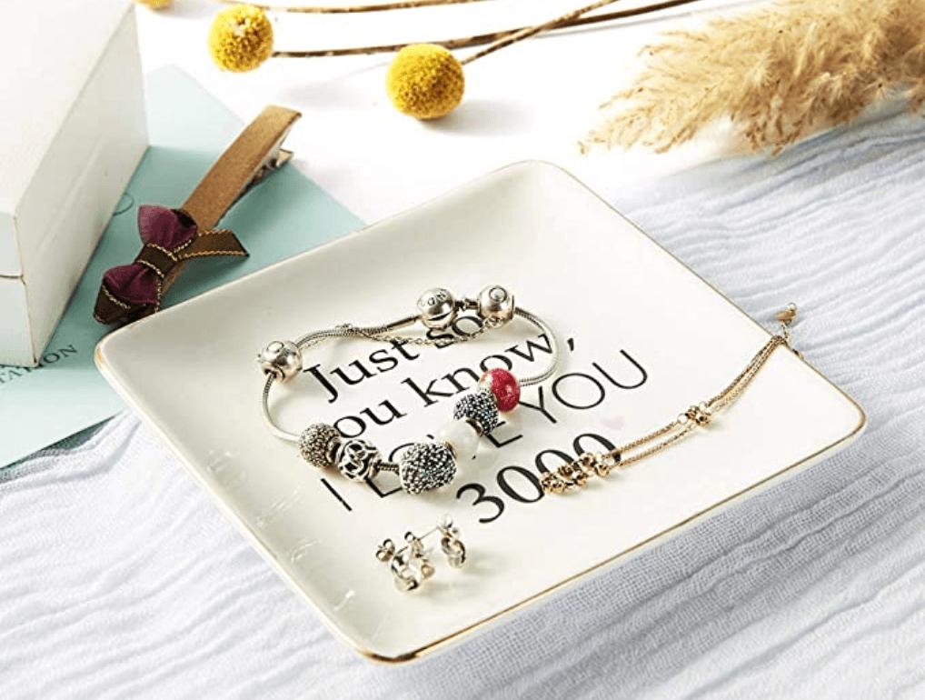 I Love You Jewelry Tray