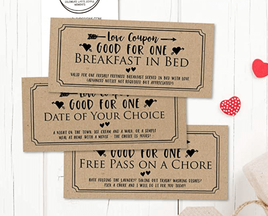 Naughty Love Coupons