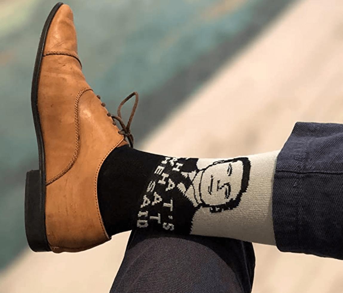 Balanced Co. That's What She Said Dress Socks