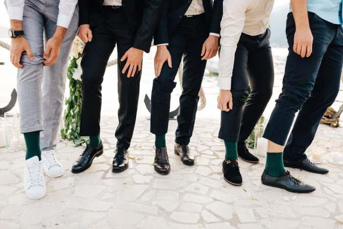 Gumball Poodle Wedding Day Socks