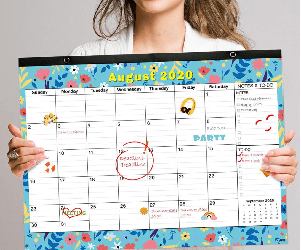 Sleek Wall Calendar