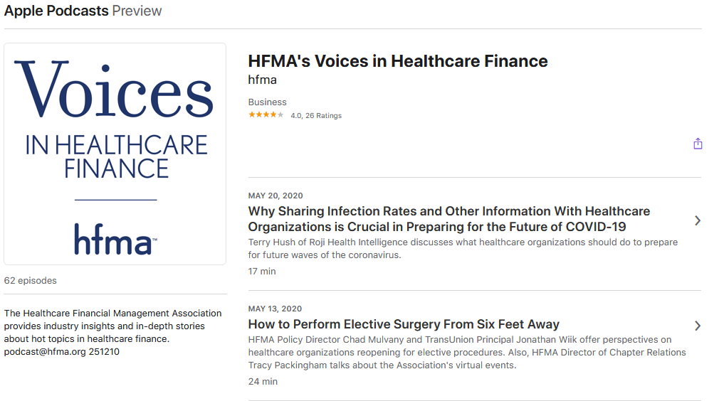 HFMA's Voices