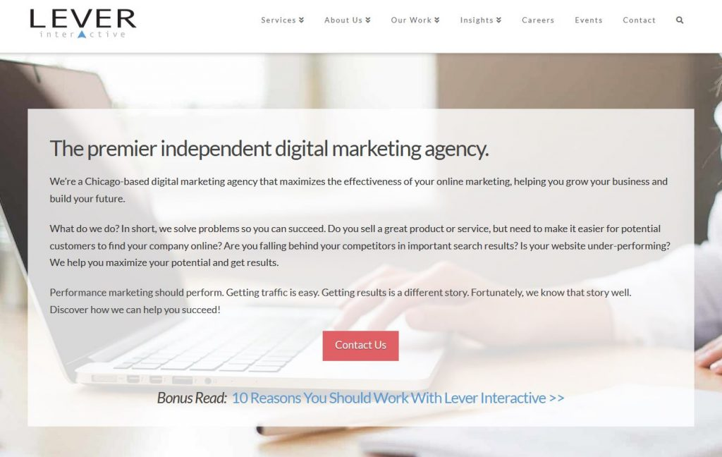 Lever Interactive