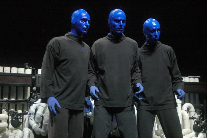 The Blue Men Group