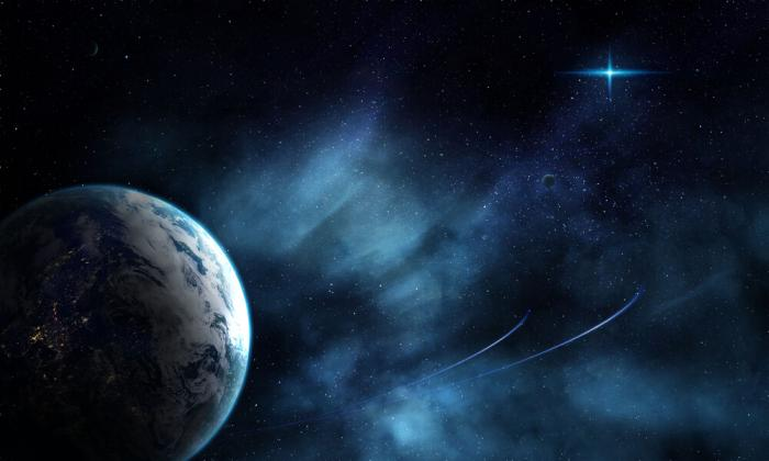 picture of sci fi setting different planets for article on writing tips