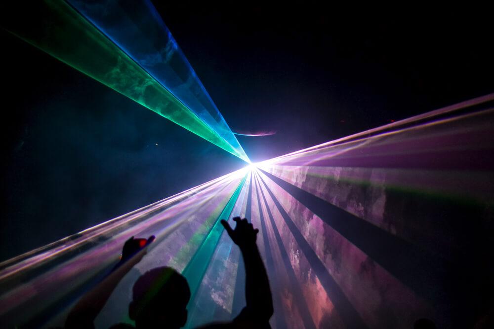 Whiskey Business Laser Light Show