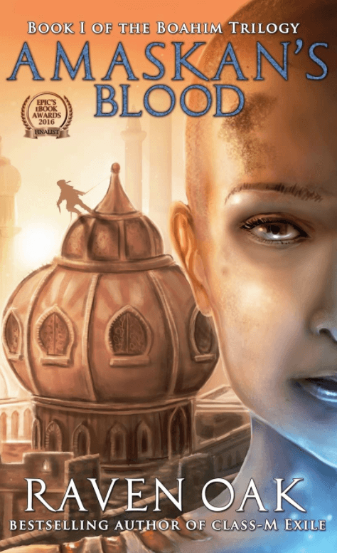Amaskan's Blood by Raven Oak
