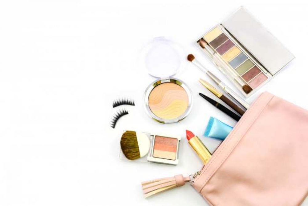 HOYOFO Drawstring Makeup Travel Cosmetics Bag