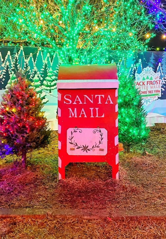 Jack Frost Winter Village Chicago Santa Mail