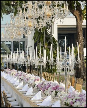 Elegant Event Lighting