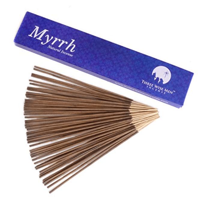 Three Wise Men Myrrh Incense Sticks