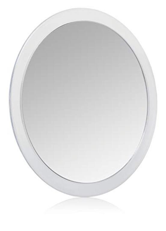 Jerdon Fog-Free Shower Mirror
