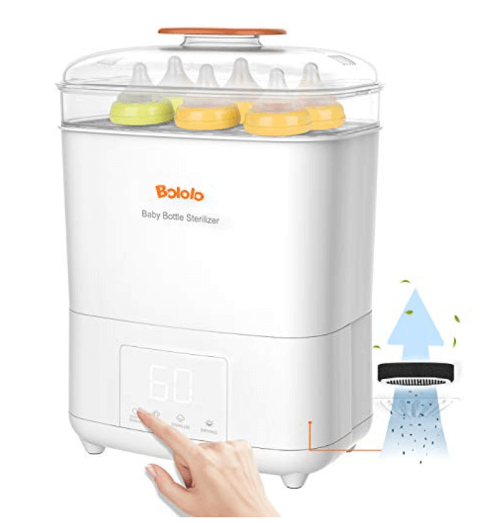 Bololo Baby Bottle Electric Steam Sterilizer and Dryer