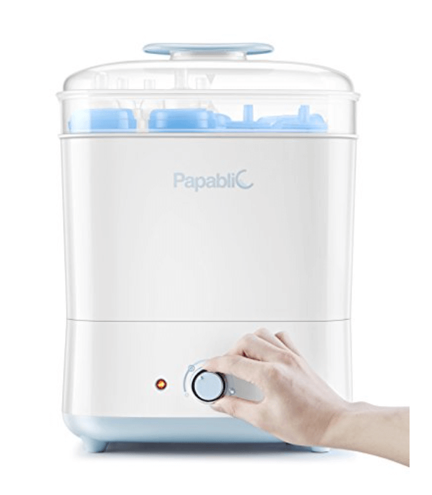 Papablic Baby Bottle Electric Steam Sterilizer and Dryer