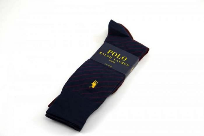 Polo Ralph Lauren Supersoft Flat Knit Socks with Polo Player Embroidery