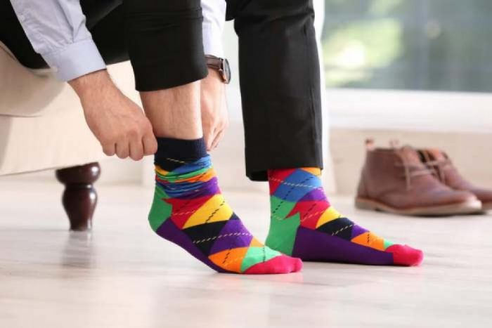 Robert Shweitzer Men's Fun Funky and Colorful Patterned Dress Socks