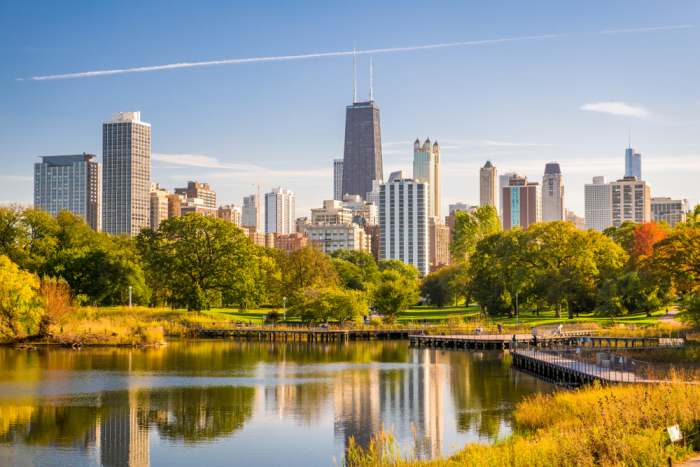 image of the city of chicago