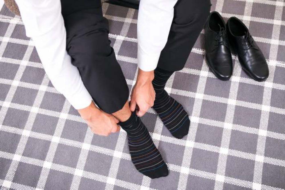 7DayOtter Modal Odor Resistant Cotton Business Dress Men's Crew Socks