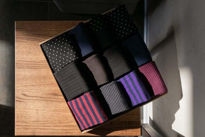 Duna Men's Cotton Dress Socks