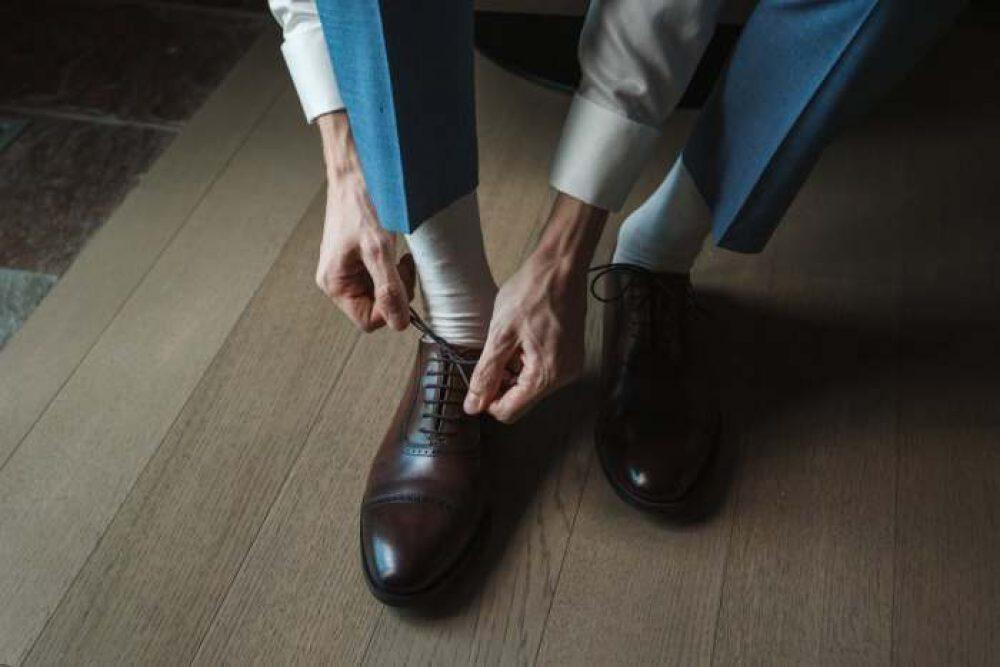 Mio Marino Men's Moisture Control Dress Socks
